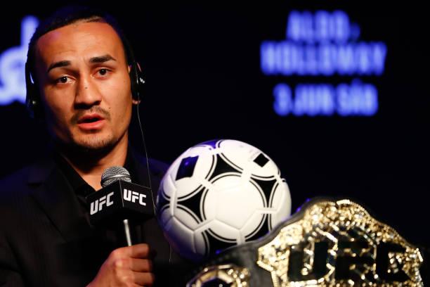 Holloway deixa provocações de lado e crava: 'Aldo é o melhor peso-pena de todos os tempos'; veja