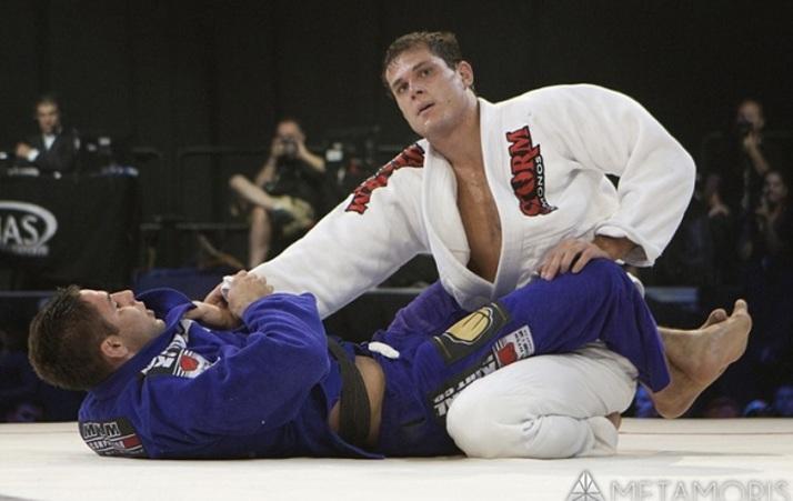 No primeiro encontro, duelo entre Roger e Buchecha terminou em empate (Foto Metamoris)