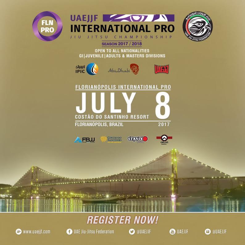 Inscrições para o International Pro de Florianópolis são prorrogadas até  quarta-feira (5); confira