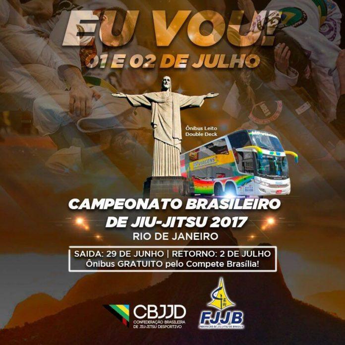 Campeonato Brasileiro de Jiu-Jitsu da CBJJD será realizado no Rio de Janeiro (Foto Divulgação)