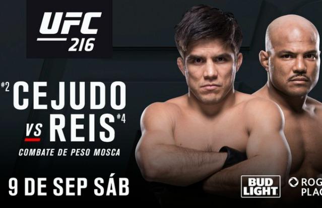 Wilson Reis terá pela frente Henry Cejudo no card do UFC 216 (Foto Divulgação)