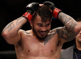 Erick Silva teve seu recurso negado pela Comissão Atlética Brasileira de MMA (Foto Getty Images)