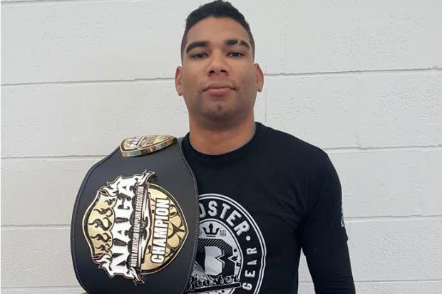 Herbert Burns faturou o cinturão do NAGA e voltou a brilhar nas lutas sem quimono (Foto Divulgação)
