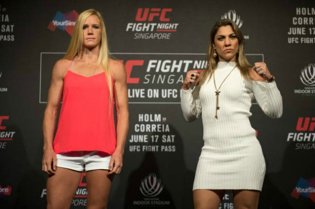 Holly Holm é vista como grande favorita para duelo contra Bethe Correia no UFC Fight Night 11 (Foto Getty Images)