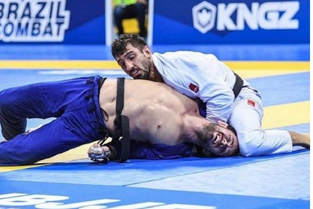 Lucas Lepri precisou derrotar três adversários para garantir o ouro em sua categoria (Foto Reprodução)