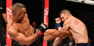 Vitor Belfort derrotou Nate Marquardt por decisão unânime dos jurados no UFC Rio (Foto Getty Images)