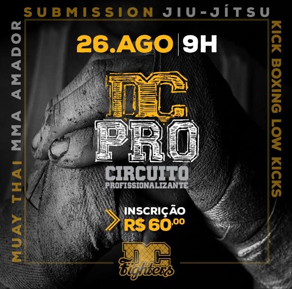 Card amador de MMA do DC Pro valerá contrato com o Shooto: 'É uma valorização'; confira