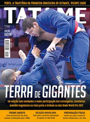 TATAME digital #1: hegemonia brasileira no Abu Dhabi World Pro, perfil Vicente Luque, treino aberto e mais