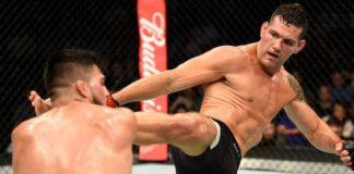 Chris Weidman voltou a vencer pelo UFC após três derrotas consecutivas (Foto: Getty Images)