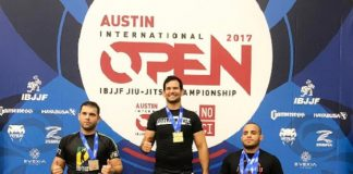 Eliot Kelly faturou três ouros e foi o grande destaque do Austin Open (Foto: Reprodução)