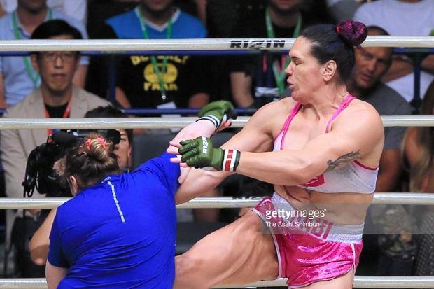 Duelo de Gabi Garcia contra russa durou somente 16 segundos (Foto: Getty Images)