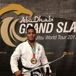 Isaque Bahiense levou o ouro na categoria até 85kg no Grand Slam de Tóquio (Foto: Arquivo Pessoal)