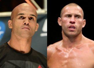 Robbie Lawler e Donald Cerrone agora vão se enfrentar no UFC 214, em 29 de julho (Foto Divulgação)