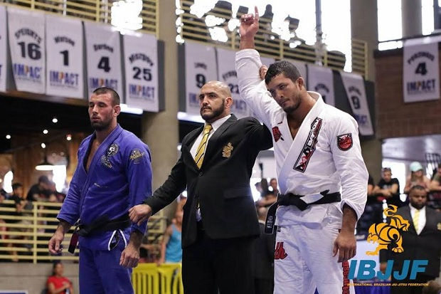 Lucas Hulk faturou o ouro duplo no American National da IBJJF (Foto: IBJJF)