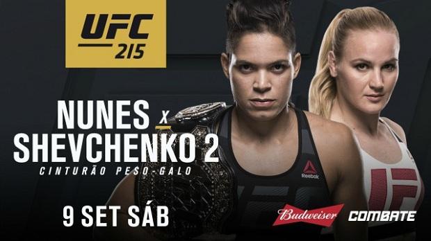 Amanda Nunes fará revanche contra Shevchenko, agora pelo cinturão (Foto: Divulgação)