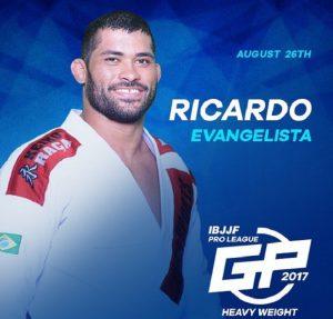Ricardo Evangelista também está confirmado para a disputa do GP dos Pesados da IBJJF (Foto: Divulgação)