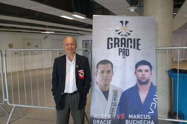 Robson Gracie foi mais um a destacar a grande organização do Gracie Pro (Foto: Yago Rédua)