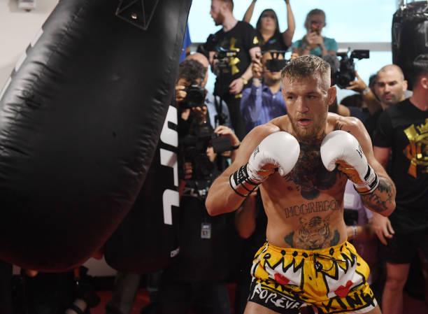 Dana divulga polêmico vídeo de McGregor 'nocauteando' Malignaggi em sparring; veja e opine