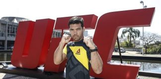 Lyoto Machida fará a luta principal do UFC São Paulo contra Derek Brunson (Foto: Wander Roberto/UFC)