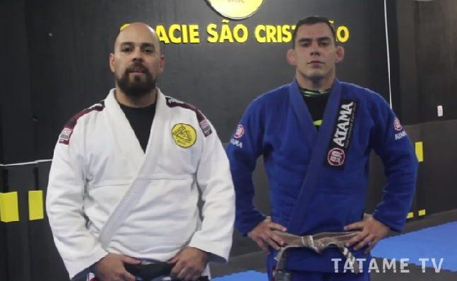 TATAME Visita: Rafael Miguel guia ida até a Gracie São Cristóvão e ensina posições exclusivas