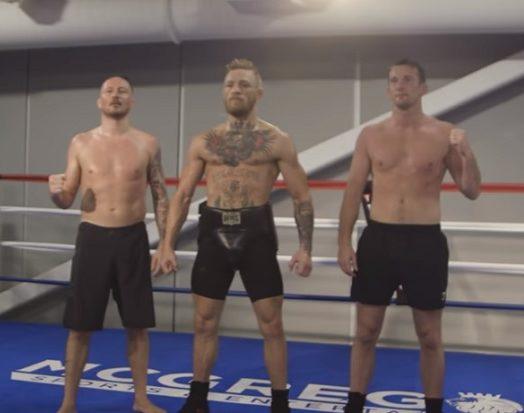 Vídeo: segundo episódio de série do UFC sobre May x Mac traz Conor em sparring e Floyd com os fãs; assista