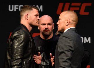 Bisping disse que Dana White deseja remarcar luta contra GSP para o UFC 217 (Foto: Getty Images)