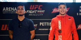 Brandon Moreno é visto como favorito para duelo contra Sergio Pettis no UFC México (Foto: Getty Images)