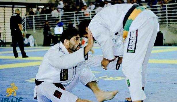 Dimitrius Souza faturou mais um ouro duplo, agora no Vitória Open (Foto: Paulo Maia/IBJJF)