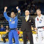 Wellington Megaton Dias faturou dois ouros na disputa do Mundial Master (Foto: IBJJF)