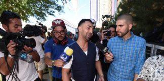 Paulie Malignaggi (ao centro) explicou a discussão que teve com Conor McGregor (Foto: Getty Images)