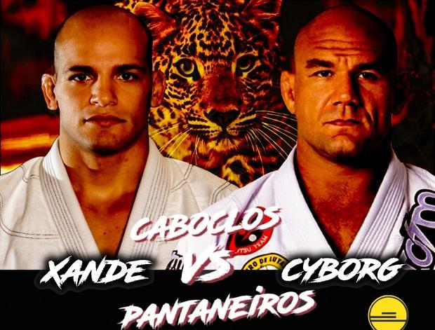 Xande Ribeiro e Roberto Cyborg farão uma das superlutas da Copa Podio (Foto: Divulgação)