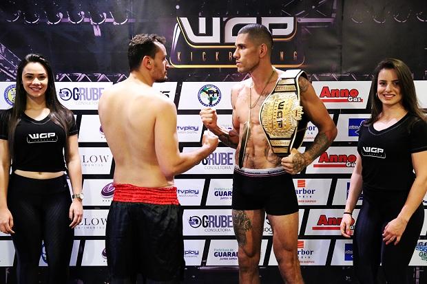 Alex Pereira defende seu título contra Maycon Silva na luta principal do evento (Divulgação WGP)