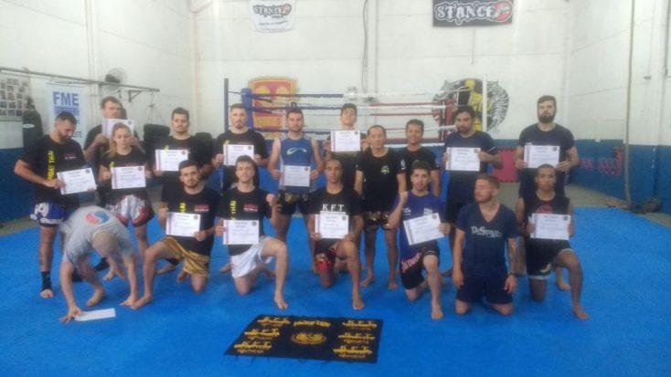 Organizador do I Seminário Internacional de Muay Thai comemora sucesso do evento
