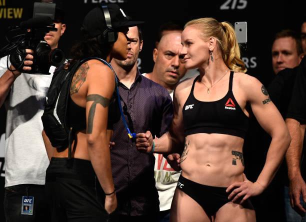 Em revanche, Amanda Nunes coloca cinturão em jogo contra Valentina Shevchenko no UFC 215; resultados