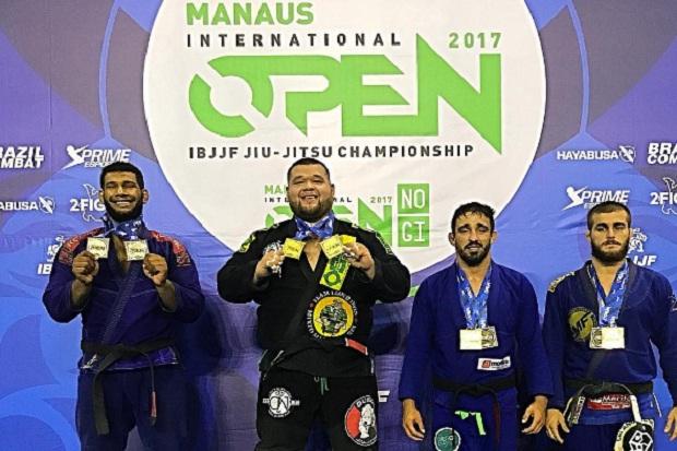 Horlando Monteiro leva três ouros no Atlanta Open, enquanto feras da Lloyd Irvin brilham no Manaus Open