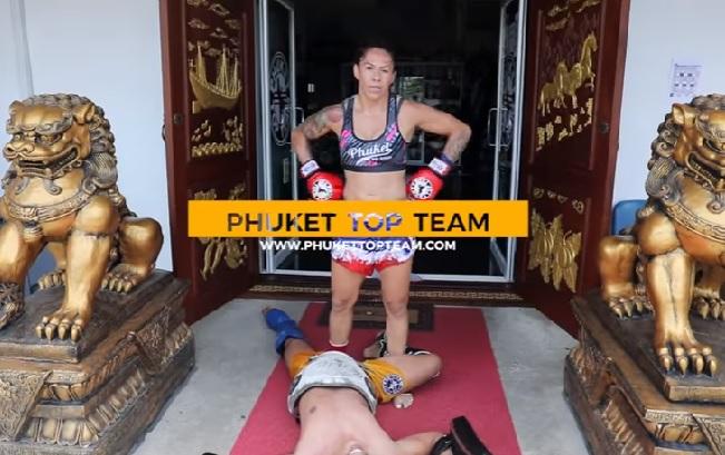 Vídeo: sem luta, Cyborg impressiona em treino de Muay Thai singular na Tailândia