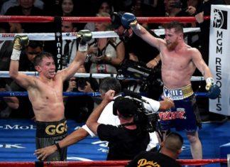 Em disputa épica de 12 rounds, Canelo Álvarez e Gennady Golovkin ficaram no empate (Foto: Getty Images)