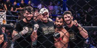 Bruno Malfacine falou de sua rotina desde que decidiu migrar para o MMA (Foto: Lucas Pacheco)