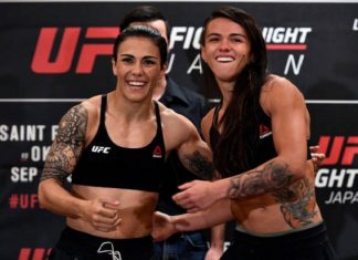 Claudinha Gadelha e Jéssica Bate-Estaca vão se enfrentar no co-main event do UFC Japão (Foto: Getty Images)