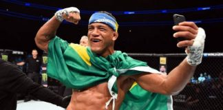 Gilbert Durinho voltou a vencer pelo Ultimate após aplicar belo nocaute (Foto: Getty Images)