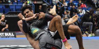 Leandro Lo foi finalizado por Craig Jones logo em sua primeira luta (Foto: FloGrappling)