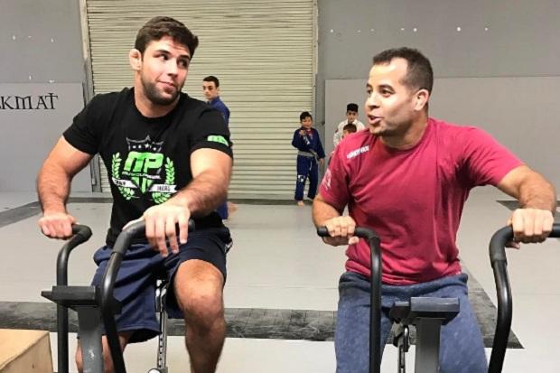 Léo Vieira falou de superluta contra Sonnen no ADCC e participação de Buchecha (Foto: Reprodução)
