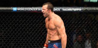Luke Rockhold voltou a vencer em retorno ao UFC após um ano de ausência (Foto: Getty Images)
