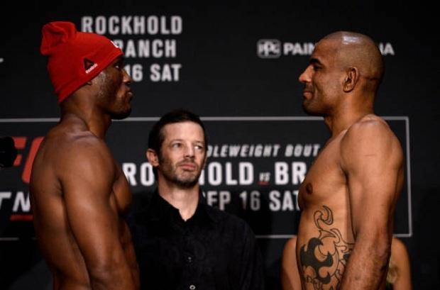 Serginho Moraes fará duelo contra o também embalado Kamaru Usman (Foto: Getty Images)