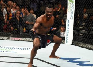Uriah Hall foi um dos premiados da noite no UFC Pittsburgh (Foto: Getty Images)