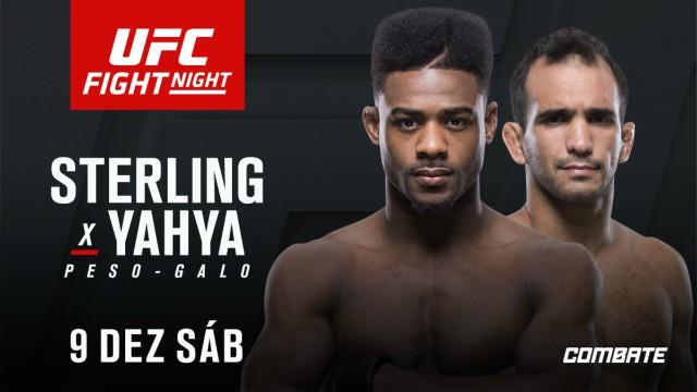 Rani Yahya enfrenta Aljamain Sterling no UFC Fresno, enquanto Warlley tem novo rival para card na Polônia