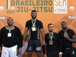 Ricardo Evangelista coleciona diversos títulos em sua carreira no Jiu-Jitsu (Foto reprodução Instagram)