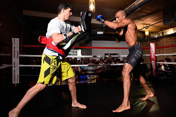 'Eu aceitei, agora é com ele', diz Barboza sobre luta com Khabib no UFC 219; veja