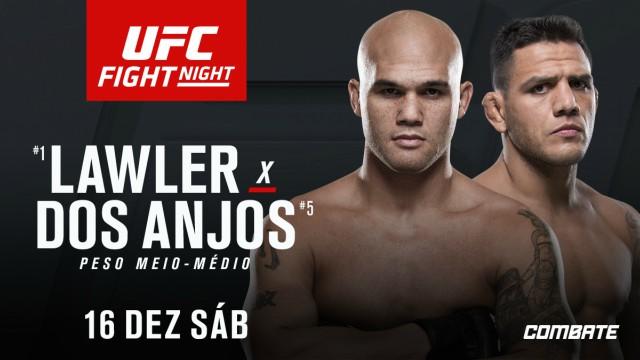 Ultimate confirma Rafael Dos Anjos contra Robbie Lawler no main event do UFC Winnipeg; confira