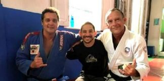 Em seu novo artigo, Luiz Dias fala sobre a amizade entre professores no Jiu-Jitsu (Foto: Reprodução)